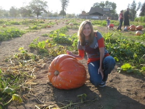 Angela and the Pumpkin
